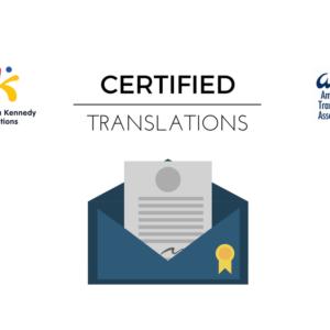 Traducciones Certificación ATA