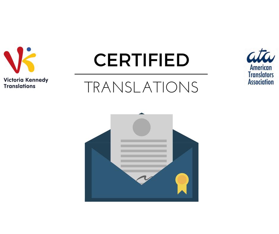 ¿Qué es una traducción con certificación ATA?